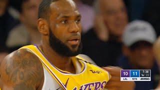 Los Angeles Lakers vs New York Knicks 1st Qtr Highlights | January 22, 2019-20 NBA Season