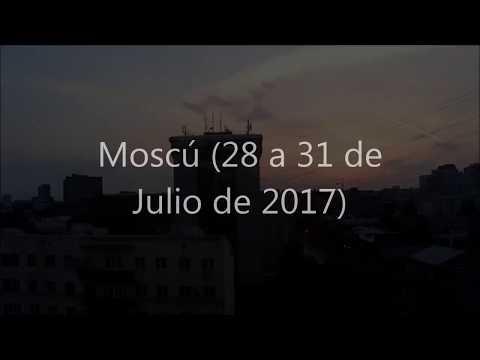 Viaje a Moscú (Vídeos varios entre 28-31 de Julio)