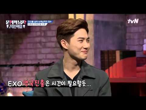 [EXO] SUHO SPEAKING ENGLISH ,CHINESE,JAPANESE .