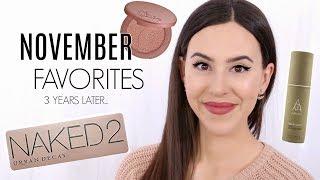November Favorites 2014 to 2017    Update on Old Favorites