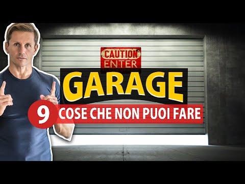 9 COSE che non puoi fare in GARAGE | Avv. Angelo Greco