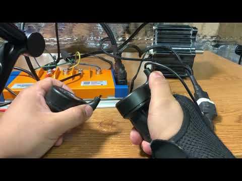 Dual throttle / variable regeneration braking demo