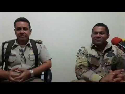 Major Fábio Rodrigo detalha operação em Livramento de Nossa Senhora