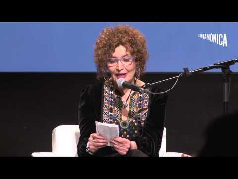 Myriam Moscona al cicle 'Dilluns de poesia', en Arts Santa Mònica