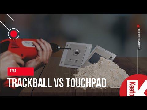 Crash Test: Trackball VS Touchpad
