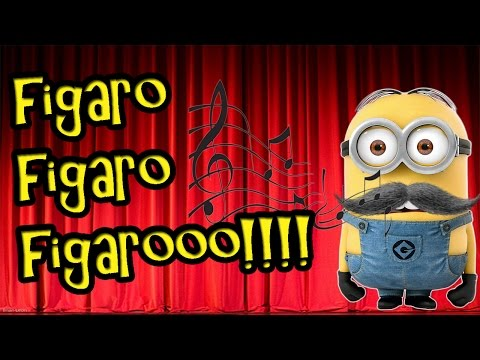 Barber of Seville - Figaros Aria (lyrics) Musica Movil ...
