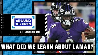 What did we learn about Lamar Jackson in his win over the Chiefs?   Around The Horn