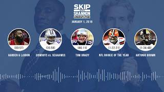UNDISPUTED Audio Podcast (01.01.19) with Skip Bayless, Shannon Sharpe & Jenny Taft | UNDISPUTED