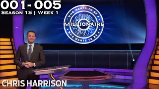 Who Wants To Be A Millionaire? #01 | Season 15 | Episode 1-5