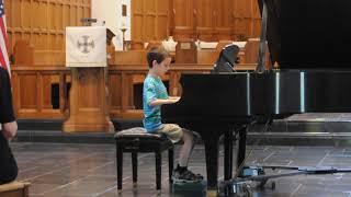 Gabe Piano Recital - Spring 2018