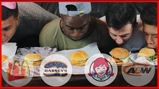 The Fast Food Burger Taste Test