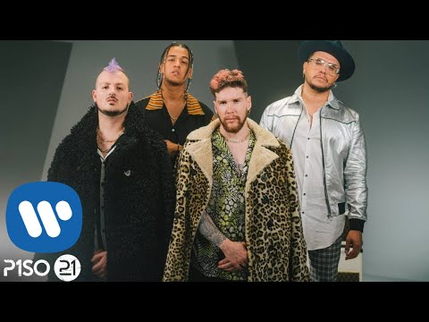 Piso 21 & Black Eyed Peas - Mami (Video Oficial)
