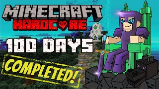 I Did EVERYTHING in 100 Days of Hardcore Minecraft