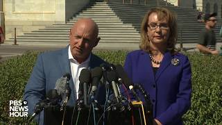 WATCH: Former Rep. Gabby Giffords, Mark Kelly discuss Las Vegas shooting