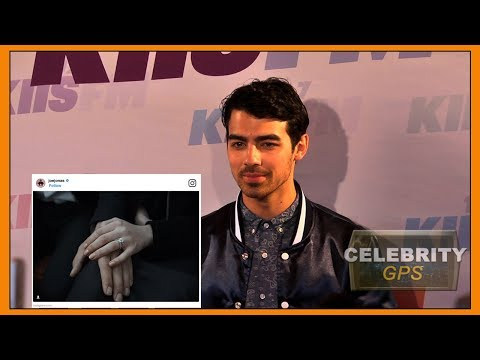 Joe Jonas and Sophie Turner are engaged!! - Hollywood TV