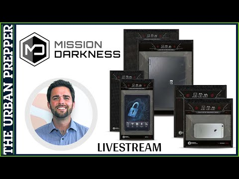 LIVE with Mission Darkness Faraday Bags | President Ryan