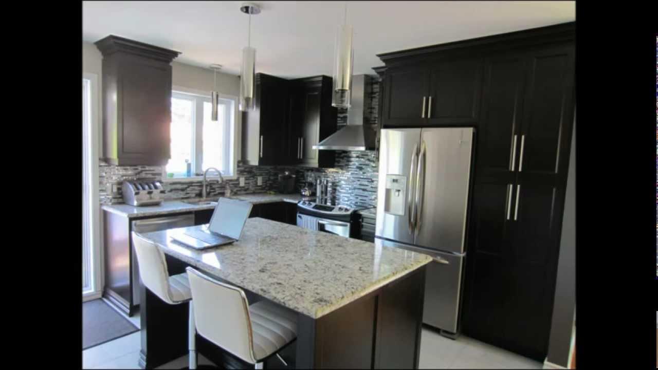 r novation cuisine avant apres youtube. Black Bedroom Furniture Sets. Home Design Ideas