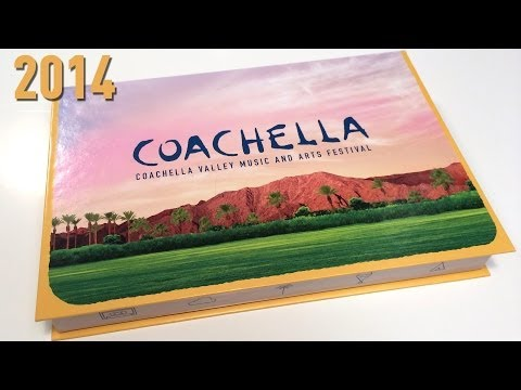 Coachella Wristband Ticket Box 2014 / What's inside? | Cool Custom Printing