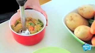 Ejemplo De Menú Para Tu Bebé De 8 Meses Nestlé Y La Alimentación De Tu Bebé Youtube