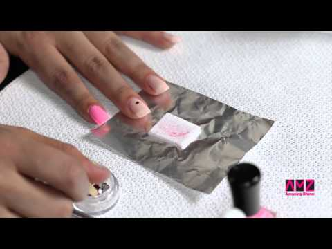 Amazing Shine Valentine's Day DIY Nail Art Tutorial