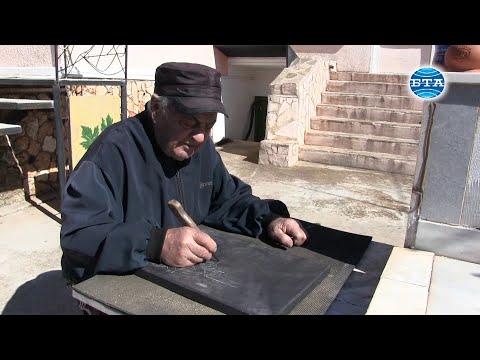 BTA: 83-годишен каменоделец от Българево строи чешми