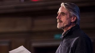Words that Changed The World, with Jeremy Irons and Carey Mulligan
