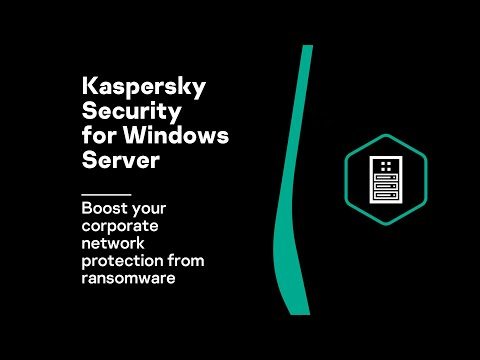 Kaspersky Security for Windows Server - boost your corporate network  protection from ransomeware