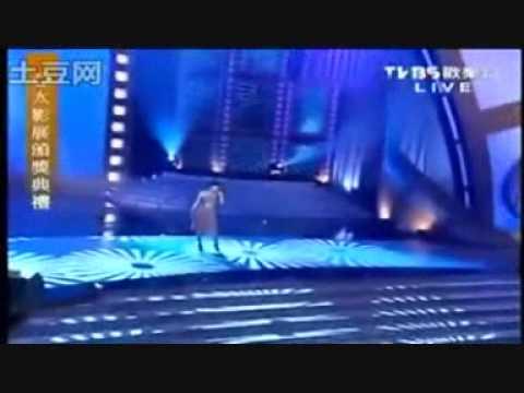 091219 张力尹 zhang li yin performing 晴天雨天 (moving on) live at taiwan's 亚太影展