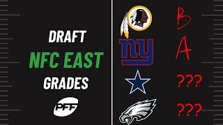 PFF NFL Podcast Highlights: NFC East Draft Grades | PFF