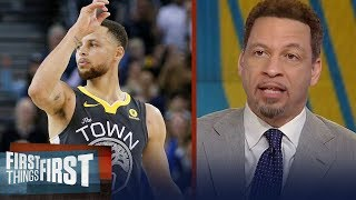 Chris Broussard talks Warriors after Steph Curry's 44 points vs the Clippers | FIRST THINGS FIRST