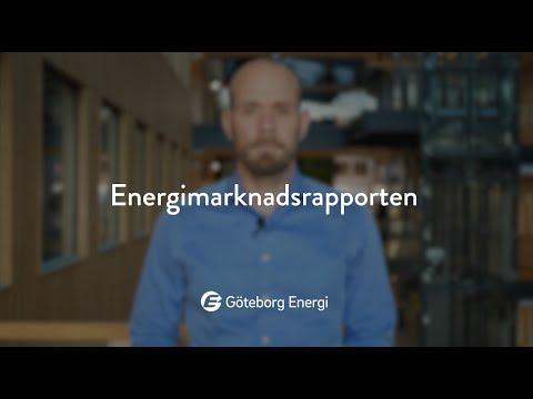 Energimarknadsrapporten, november 2020
