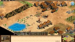 AoE2- Expert 2v2- TheViper & MBL vs Lojza & Wonder