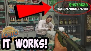 THIS IS HOW I GOT RICH FROM ROBBING A STORE! (GTA 5 Money Glitch)