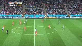 Holland Vs Argentina 2014 Semi-Final FULL MATCH 1