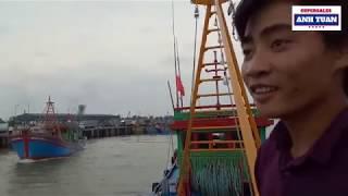 Trải Nghiệm Đi Trên Tàu Cá Có Công Suất Lớn Nhất Quảng Ngãi
