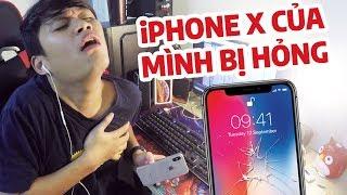 iPHONE X CỦA MÌNH BỊ...HỎNG :((( - THỐN VKL....