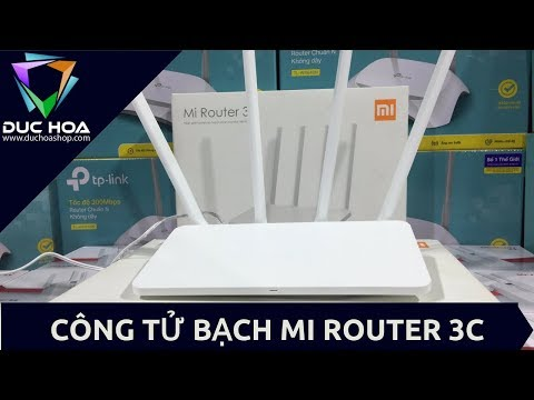 video Bộ Phát Wifi Router Wifi Xiaomi Mi Wifi 3c