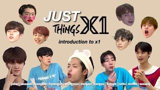 JUST X1 (엑스원) THINGS #1 {PRODUCE X 101}