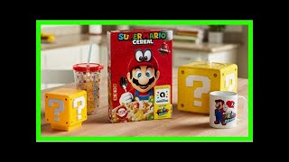 Super mario cereal is totally a real thing, and each box is an amiibo card