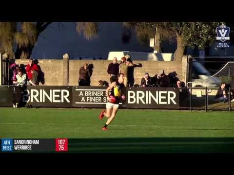Round 11 Highlights: Sandringham vs Werribee