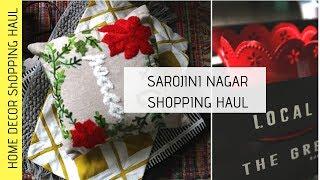 Sarojini Nagar  Market Haul   Indian Home Decor Haul   Budget Home Decor (Best home decor shops )