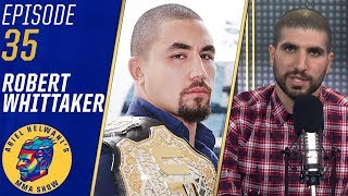 Robert Whittaker's pain was 'out of this world' before UFC 234 | Ariel Helwani's MMA Show