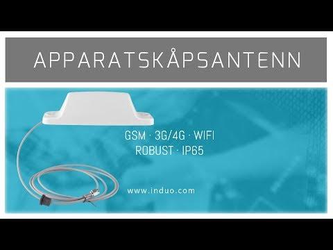 Apparatskåpsantenn med IP65 GAA11