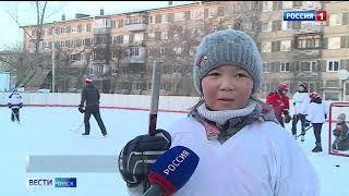 В Омске открылись первые городские катки