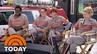 Stars Of 'Ghostbusters' Reboot On Costumes, Camaraderie, And Comedy | TODAY