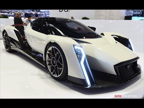 Car Design: 2017 Vanda Electrics 'Dendrobium' Concept