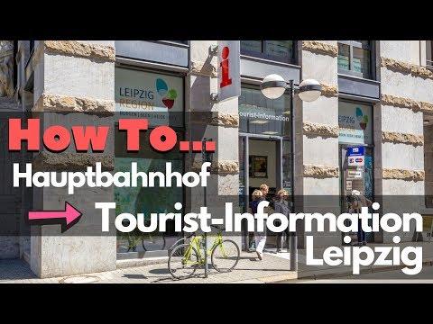 How To: Vom Hauptbahnhof Leipzig zur Tourist-Information