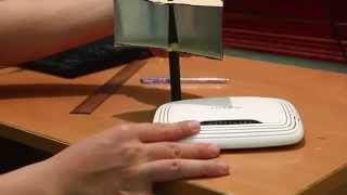 Cách làm bộ khuếch đại sóng cho bộ thu phát Wifi bằng vỏ lon bia