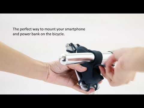 video Phone Holder for a Bike – Bone USB Portable Charger 6700mAh