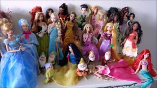 Doll collection: Disney Store dolls [March 2018]